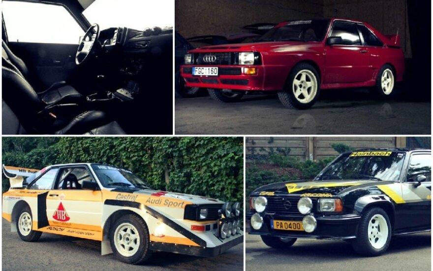 Lietuvių dirbtuvėse atgimsta legendiniai ralio automobiliai