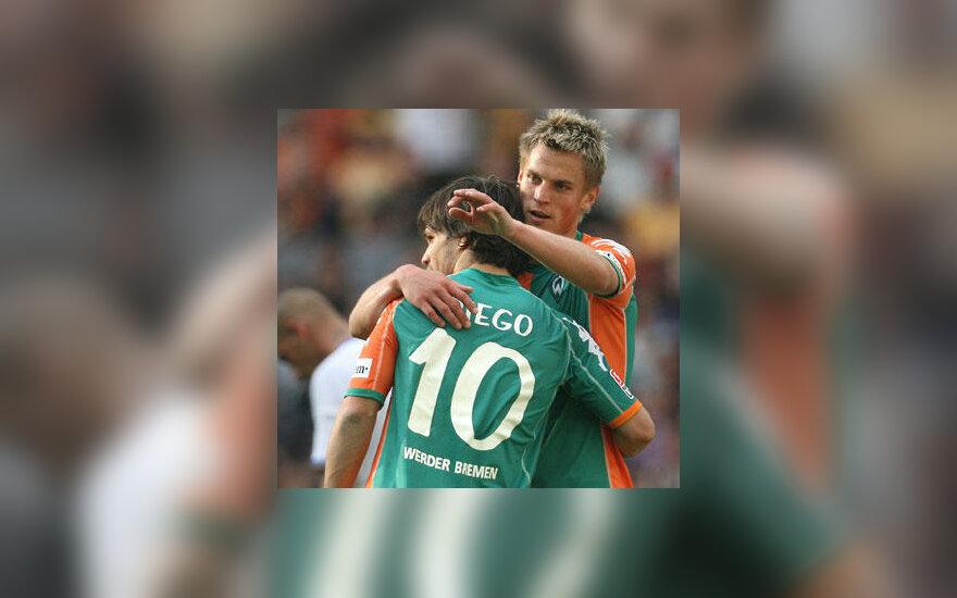 """Markus Rosenberg ir Diego (""""Werder"""")"""
