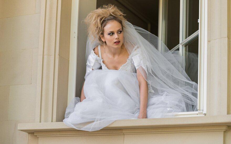 """Filmo """"Vestuvės"""" akimirka"""
