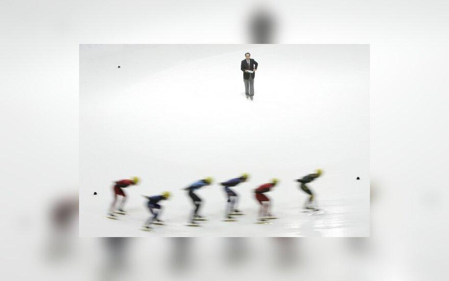Greitasis čiuožimas trumpuoju taku