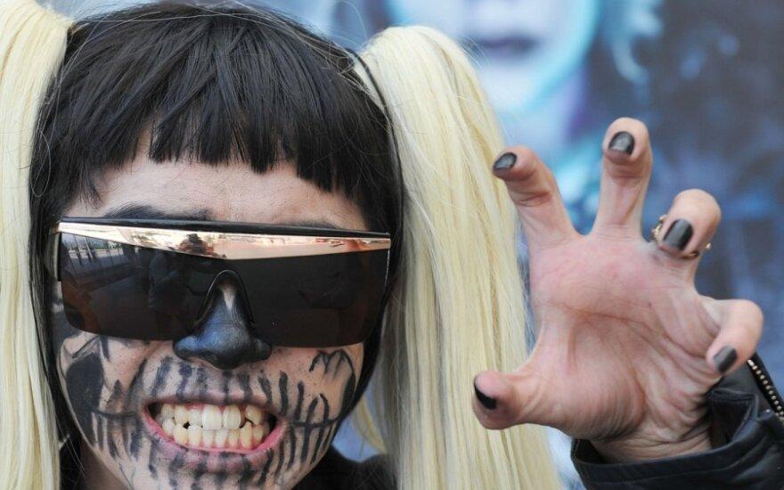 Lady Gaga fanai Honkonge
