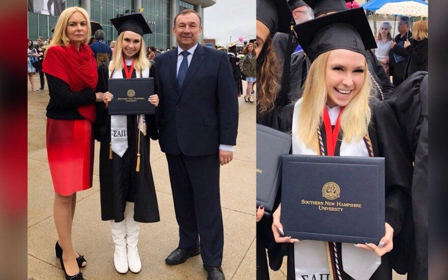 Simona Milinytė baigė universitetą JAV