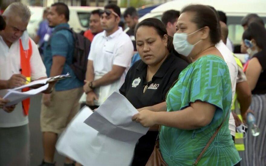 Samoa uždaryta beprecedenčiam mūšiui su tymų epidemija