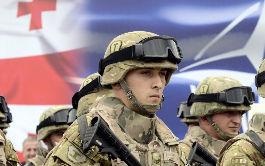 Georgia 'is waiting for invitation to join NATO, too' - Lithuania
