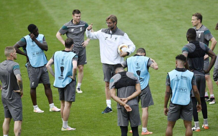 """""""Liverpool"""" ar """"Sevilla"""" – kas triumfuos UEFA Europos lygos finale?"""