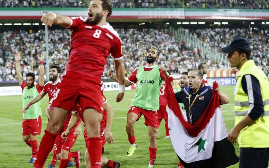 Sirijos futbolininkų triumfas