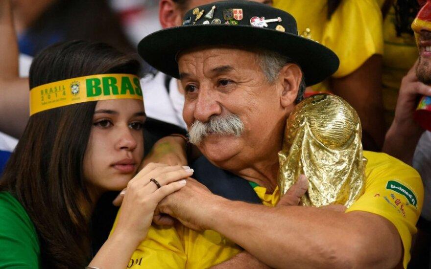 Anapilin iškeliavo garsiausias brazilų futbolo fanas