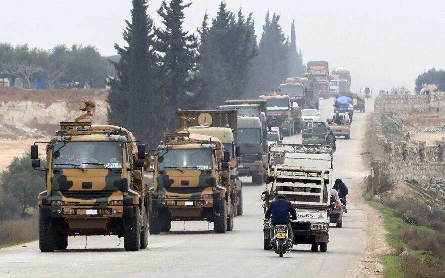 Turkijai artėjant prie tiesioginės konfrontacijos su Rusija – radikalus posūkis
