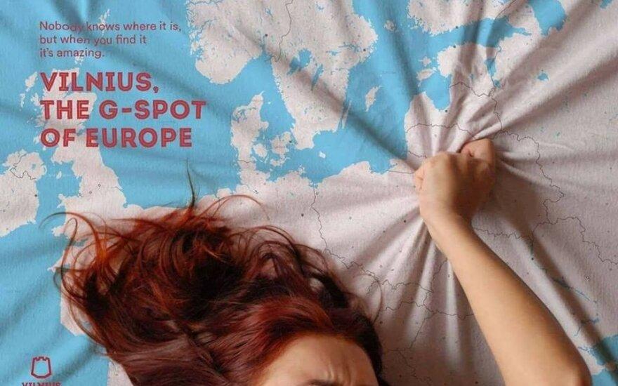 """Vilnius as """"the G-spot of Europe"""""""