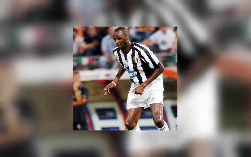 """Patrick Vieira (""""Juventus"""")"""