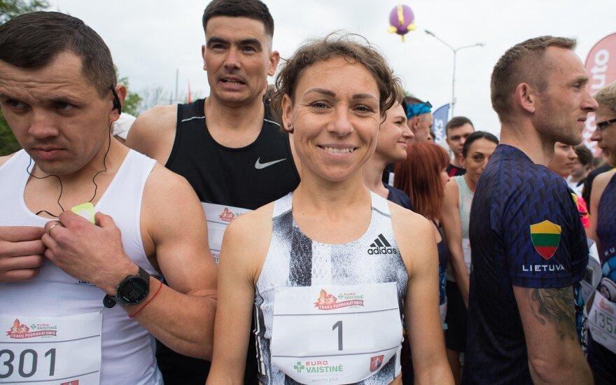 """""""Eurovaistinės Trakų pusmaratonis 2019"""", Milda Eimontė"""