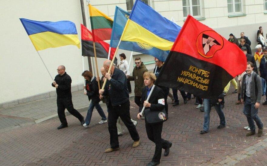 Vilniuje – eitynės už Ukrainą