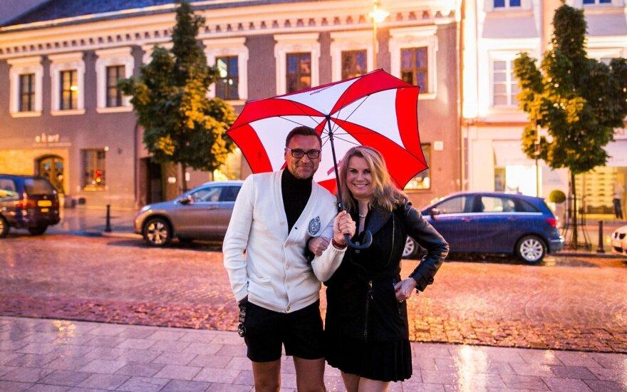Žilvinas Grigaitis ir Elle Martin-Grigaitis