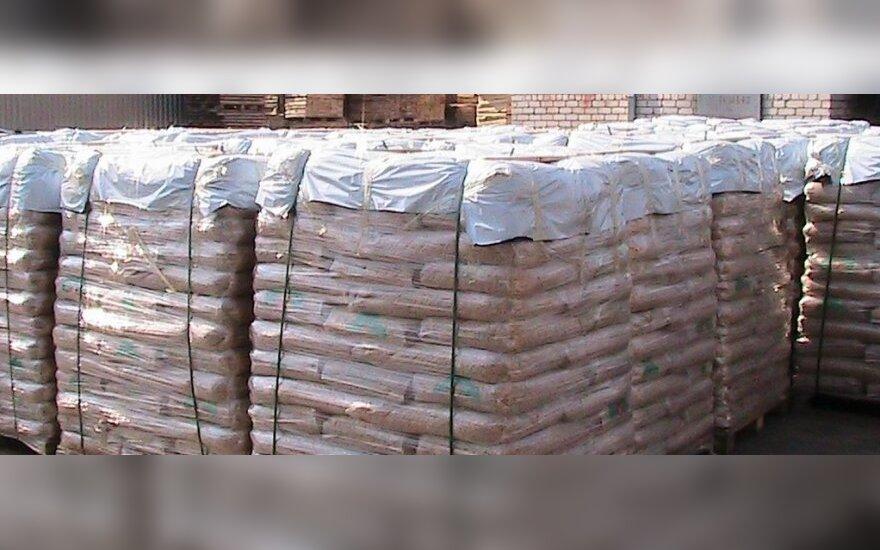 Prekyba medienos granulėmis: teko įsikišti FNTT