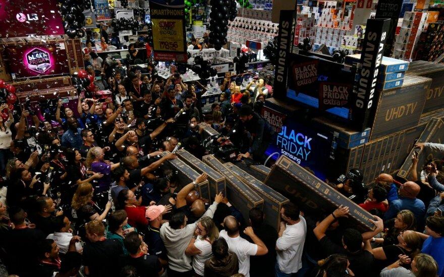 Juodojo penktadienio išpardavimai pasaulyje