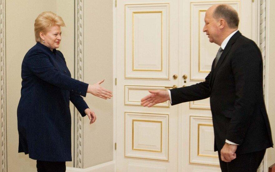 Kubilius apie susirašinėjimą su Grybauskaite: manau, tų laiškų turėtų būti kur kas daugiau