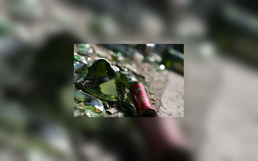 Sudaužytas butelis