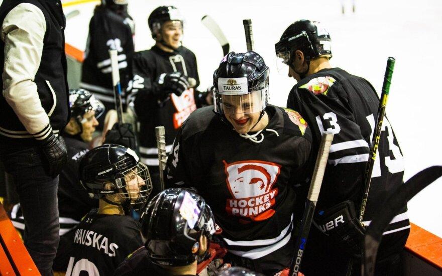 """""""Hockey Punks"""" komanda"""