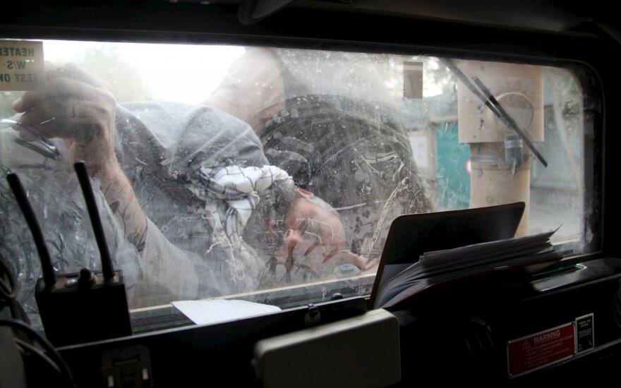 Per smarkų susišaudymą nuo kulkų, paleistų iš iš Afganistano, žuvo septyni Pakistano pasieniečiai