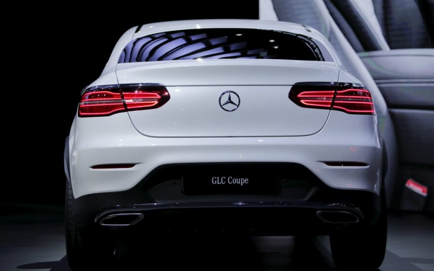 """Mercedes-Benz GLC Coupe"""