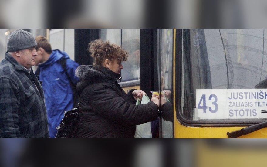 Dar kartą apie viešojo transporto reformą Vilniuje