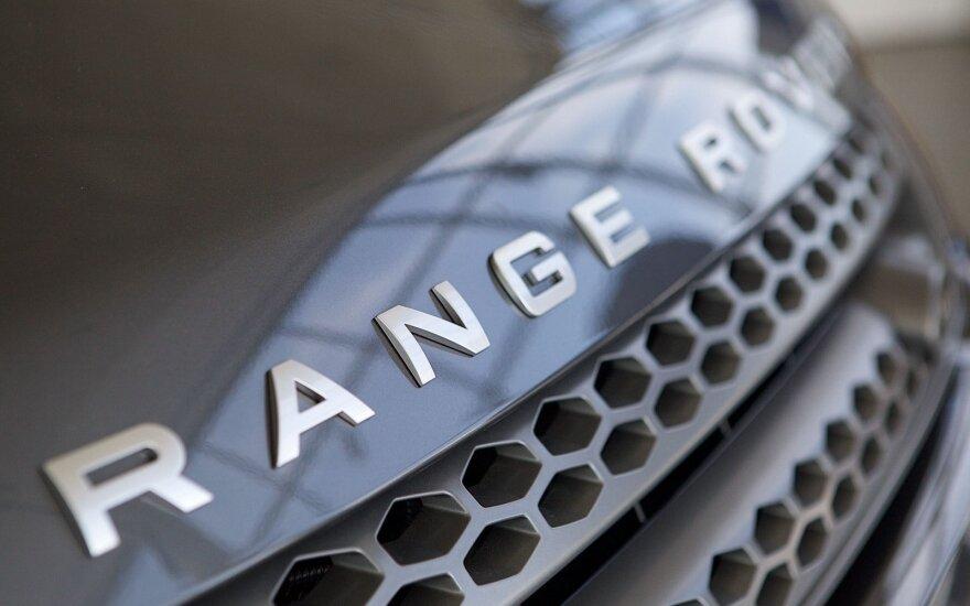 """Naujasis """"Range Rover"""" debiutuos kitąmet"""