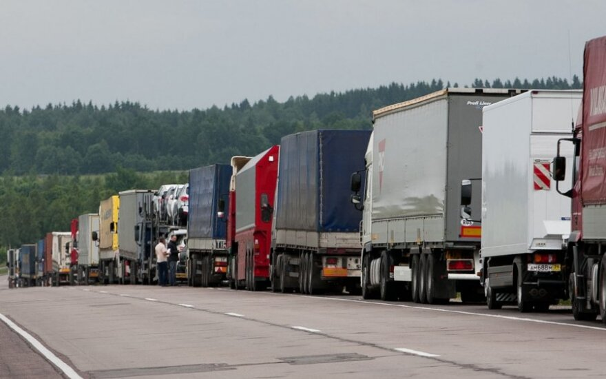 Į Lietuvą iš Rusijos grąžinami kroviniai