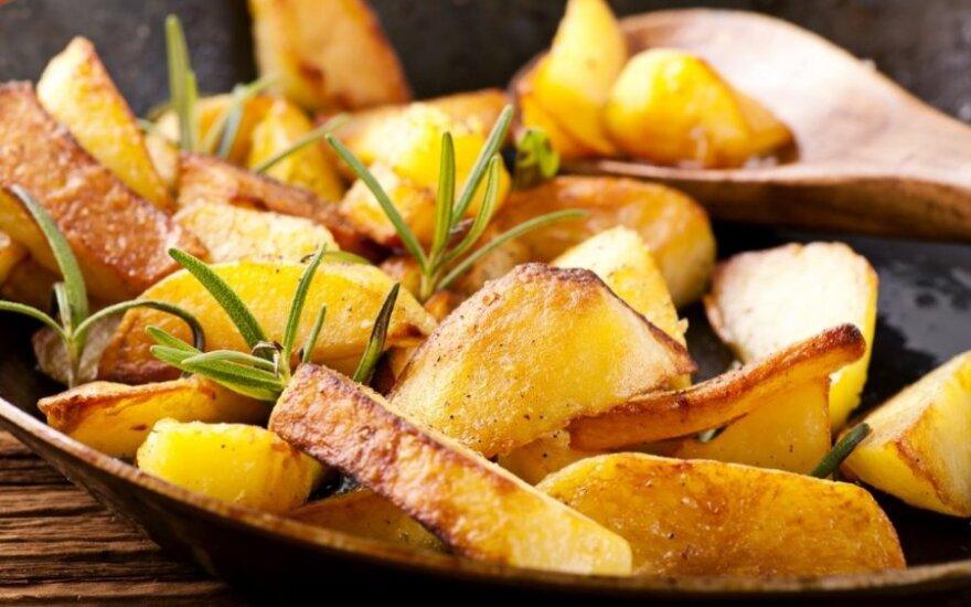 Kaip paruošti bulves, kad jos nekenktų figūrai