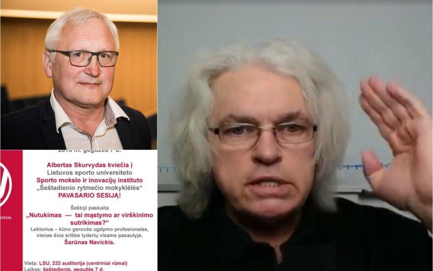 Albertas Skurvydas, Šarūnas Navickis