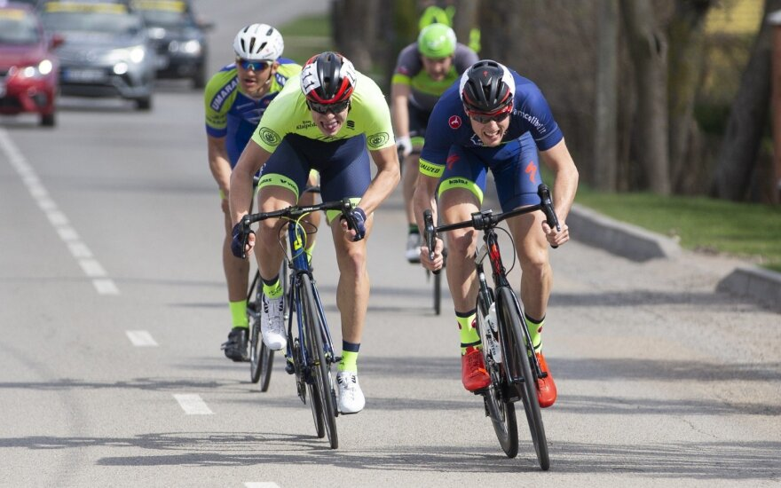 Lietuvos dviračių plento taurės I etapas