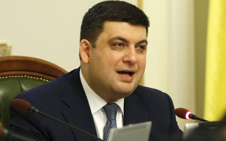 Ukrainos premjeras prašys parlamento išplėsti jo įgaliojimus