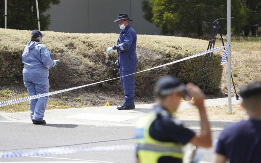 Australijos policija Izraelio studentės Aiios Maasarwe nužudymo vietoje