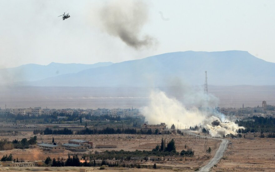 Apšaudytoje bazėje Irake tarnavę lietuviai laikinai perkeliami