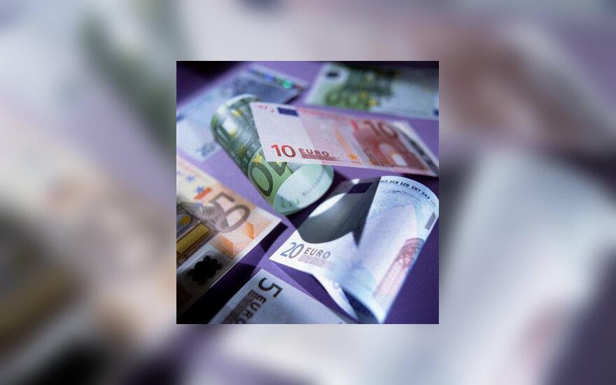 ES, eurai, pinigai