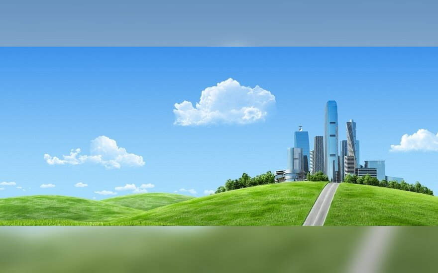 Eko miestų vizija: elektromobiliai, ore kabančios konstrukcijos ir gyvenimas požemyje