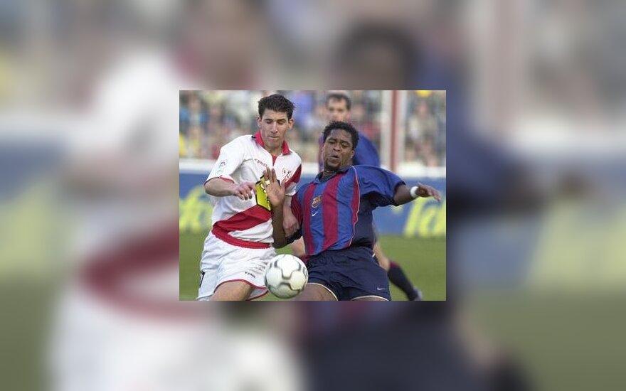 """""""Barcelona"""" vs. """"Rayo Vallecano"""""""