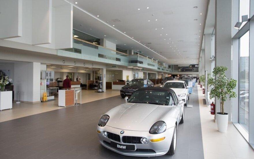 Vilniuje atidarytas atnaujintas BMW salonas