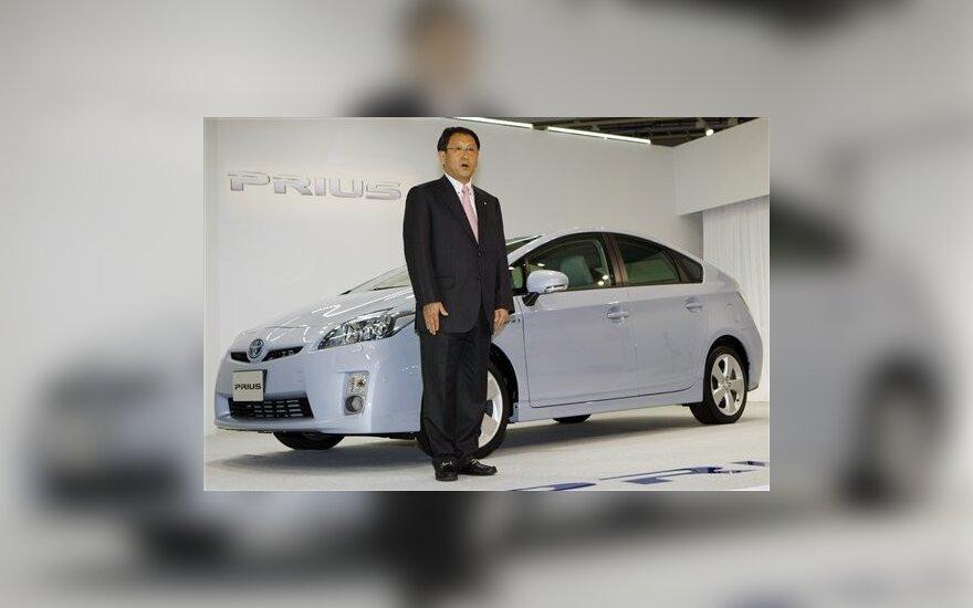 """""""Toyota"""" vadovas Akio Toyoda"""