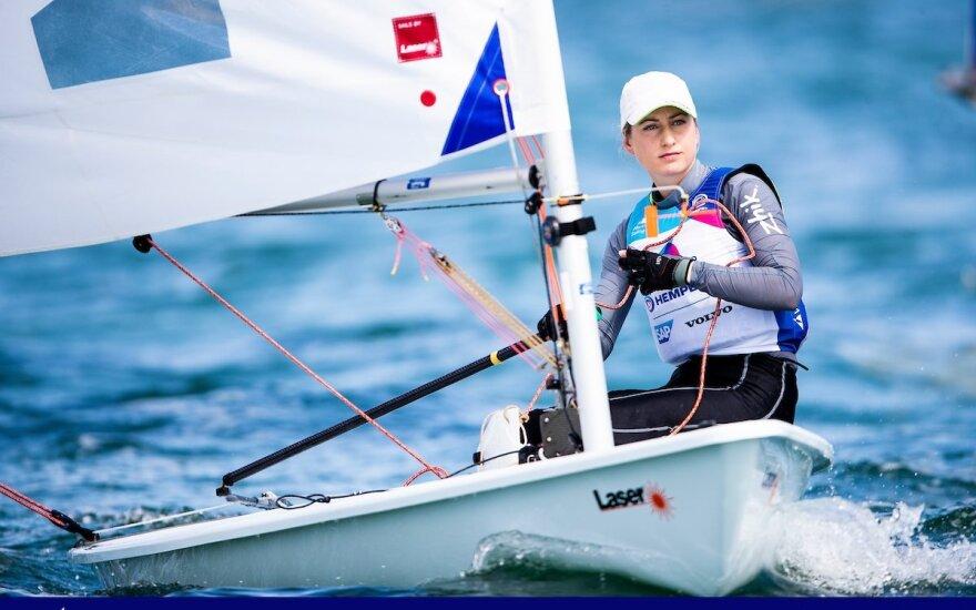 Viktorija Andrulytė (Nuotr. Sailing Energy)
