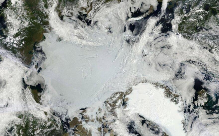 Prie Norvegijos Arkties salos įvyko galingas žemės drebėjimas