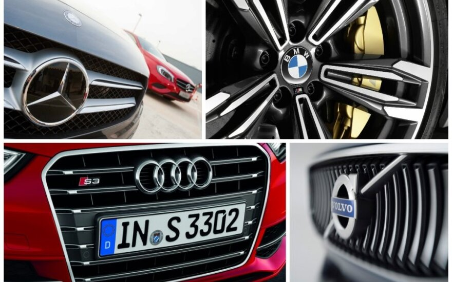 Automobilių prekės ženklai