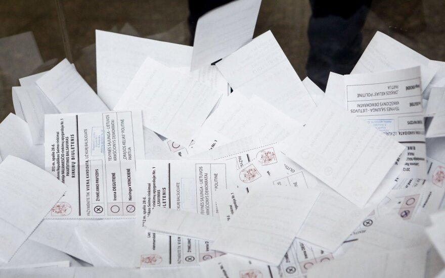 Oficialiai skelbiami kandidatai į Seimą, jie įgyja teisinę neliečiamybę