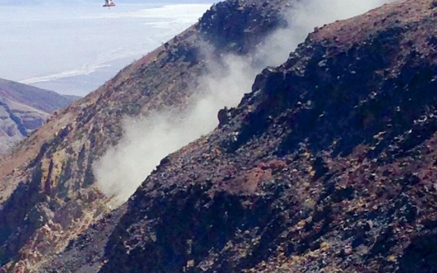Mirties Slėnio parke sudužus JAV naikintuvui sužeisti 7 lankytojai