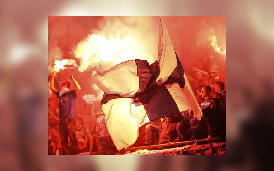 Lenkų futbolo aistruoliai