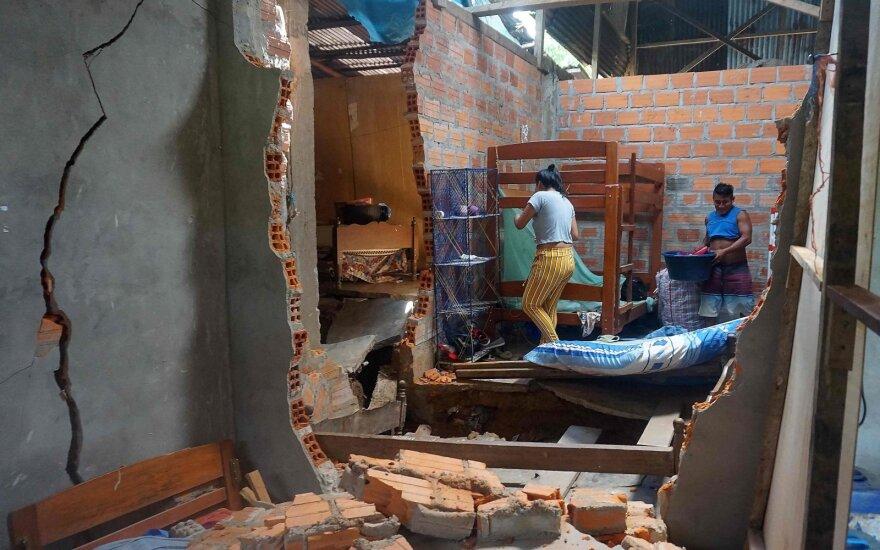 Žemės drebėjimas Ekvadore