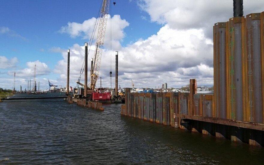 Povandeninės sienutės statybos