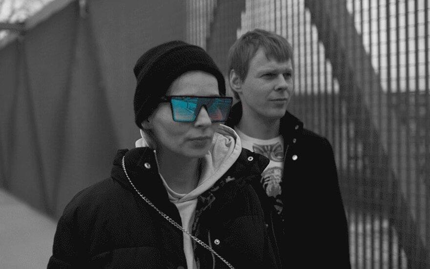 Adas Gecevičius ir Umiko Kotori / Foto: Vytautas Juozėnas