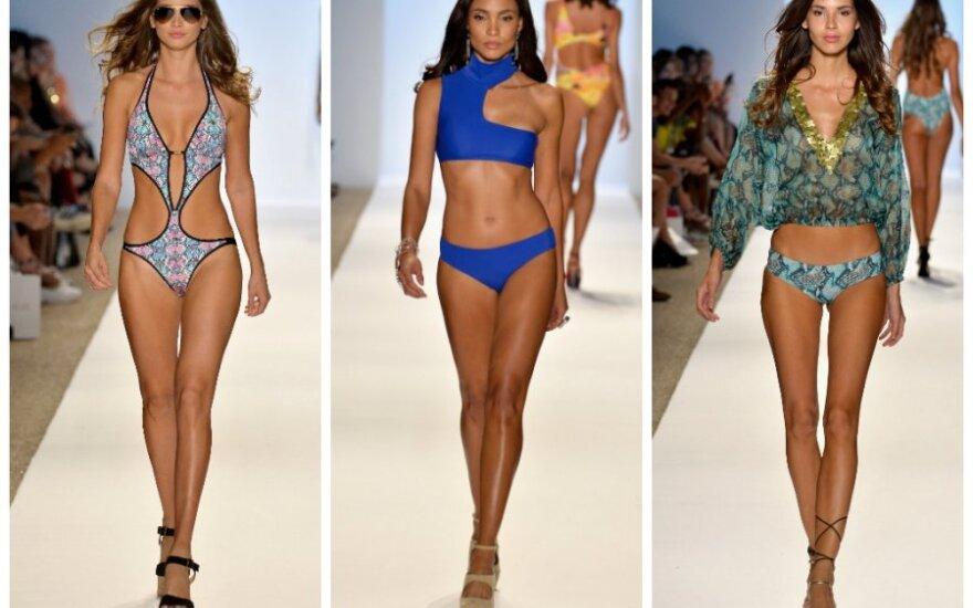 Karščiausios paplūdimio mados: net 100 maudymosi kostiumėlių modelių!