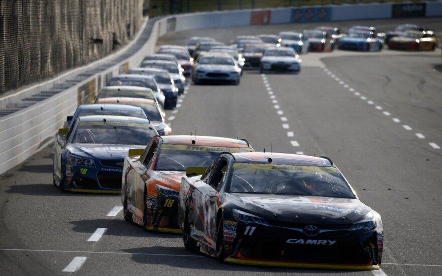 Incidentas įvyko po NASCAR lenktynių etapo Martinsvilyje