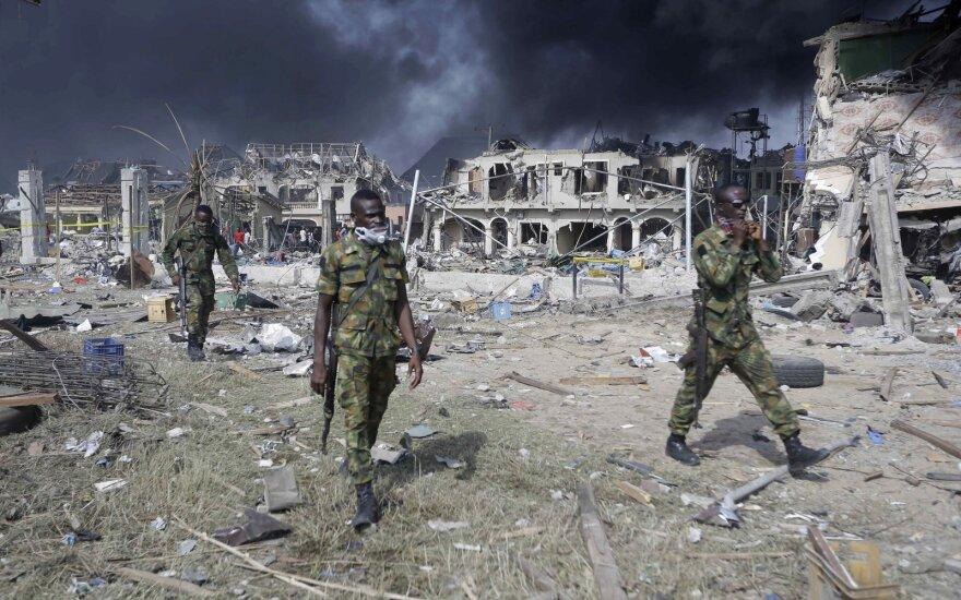 Nigerijoje islamistai nužudė penkis pagrobtus kariškius